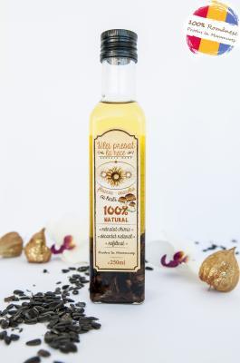 Ulei de floarea-soarelui cu hribi