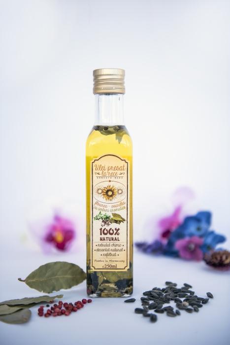 Ulei de floarea-soarelui cu ierburi aromatice